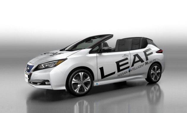 Nissan представил открытую версию нового Leaf