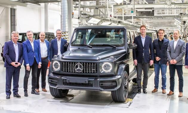 Стартовало серийное производство нового Мерседес Бенс G-Class