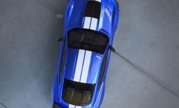 1-ый тизер нового Форд Mustang Shelby GT500 появился всети интернет