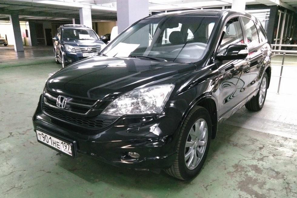 Honda CR-V черный