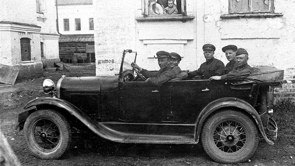 Ford-A советской сборки в РККА