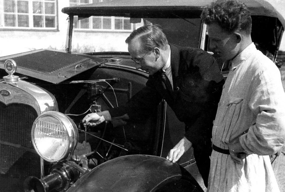 Ford-A в НАМИ 1928 год