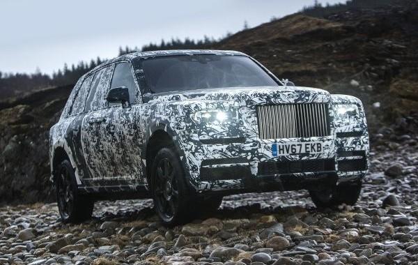 Rolls-Royce опубликовал дату презентации своего первого внедорожника Cullinan