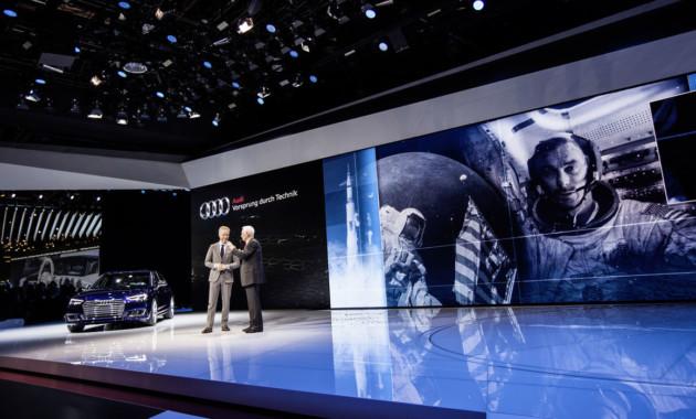 Международный автосалон в Детройте остался без Audi