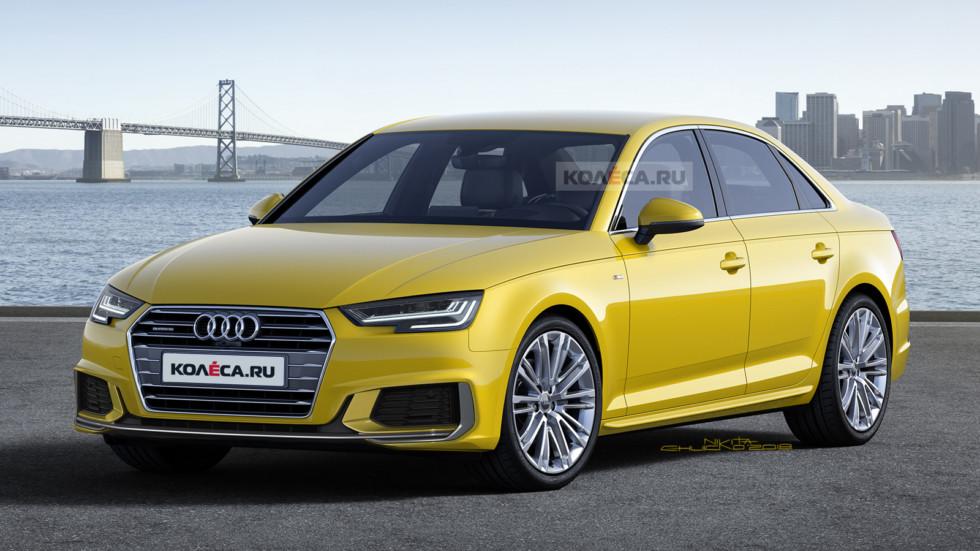 Audi A4 front1