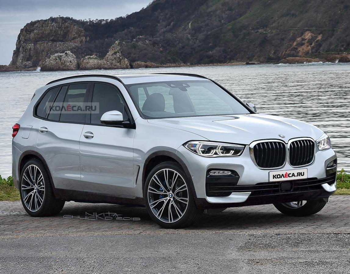 Официально: новый BMW X5 представят в этом году
