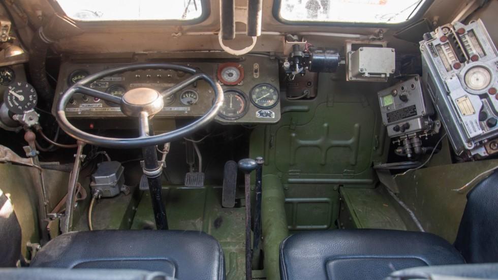 БРДМ-2 РХ внутри