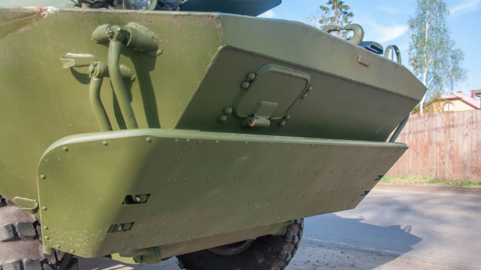 БРДМ-2 РХ волноотбойник