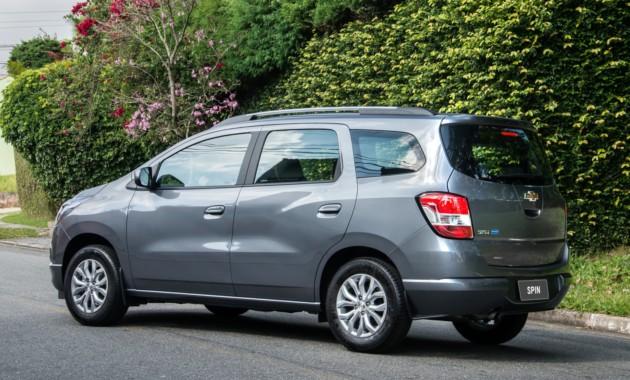 Обновленный компактвэн Chevrolet Spin готовится к дебюту