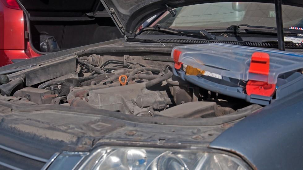 Volkswagen Passat B5 и эндоскоп