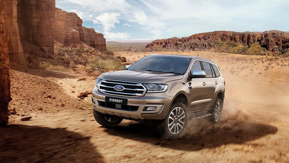 Смотри! Ford Everest 2019 года | фото, видео, технические характеристики