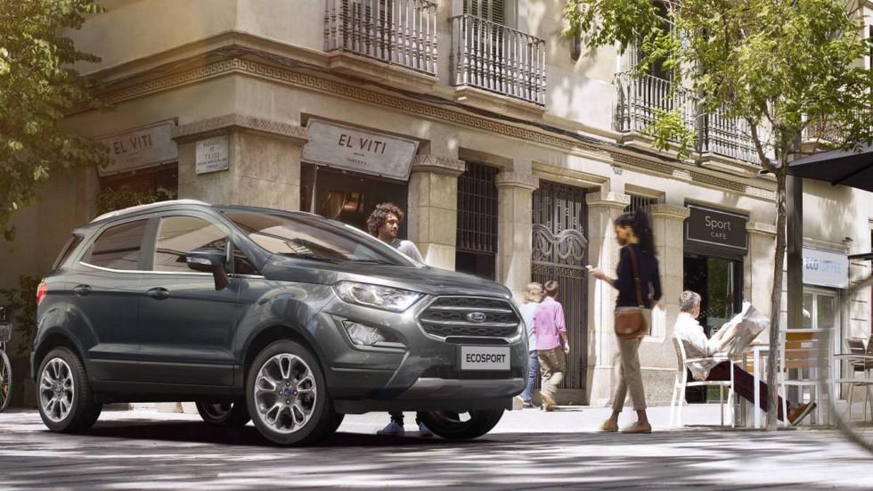 Обновлённый Ford EcoSport добрался до России. Названы цены