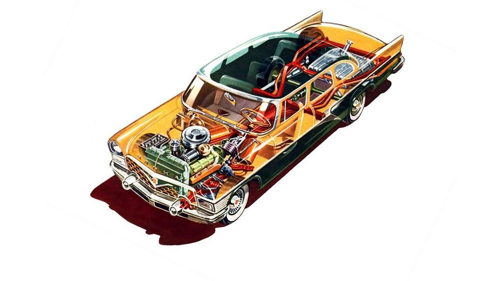 ГАЗ-13 Чайка '1959–81схема