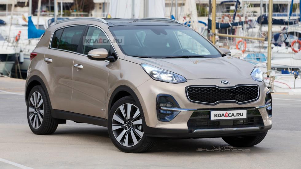 Kia Sportage 2 front1