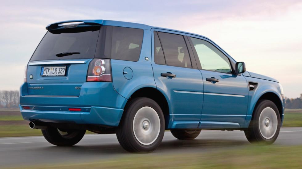 Land Rover Freelander 2 динамика