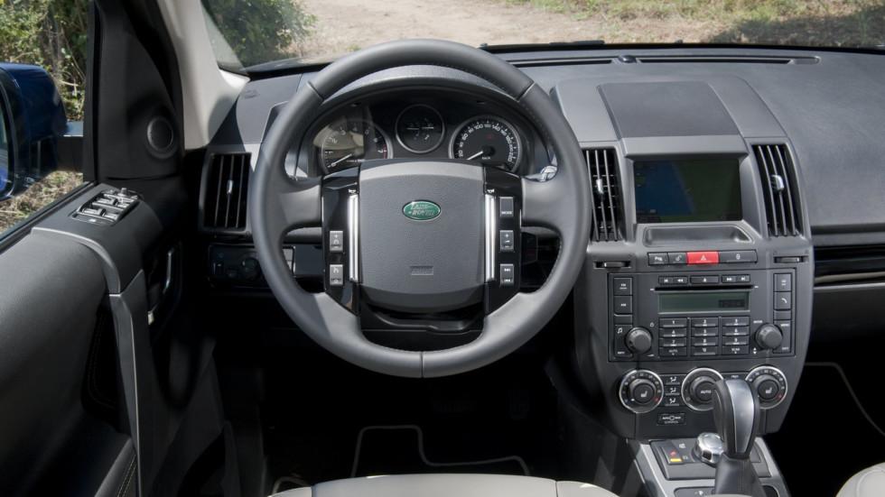 Land Rover Freelander 2 руль