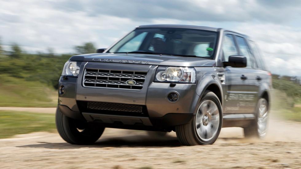 Land Rover Freelander 2 в динамике