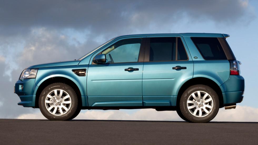 Land Rover Freelander 2 в профиль