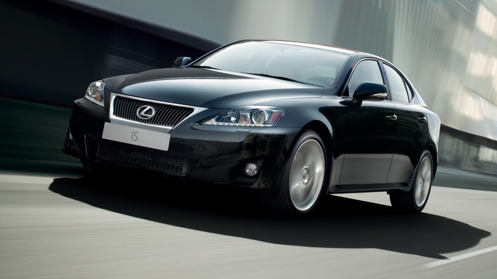 Lexus IS 200d Worldwide (XE20) '2010–13 в движении