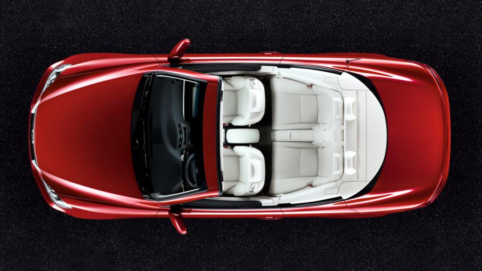 Lexus IS 250C кабриолет сверху