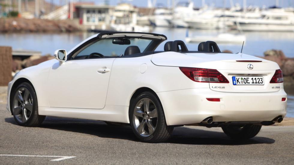 Lexus IS 250C кабриолет сзади