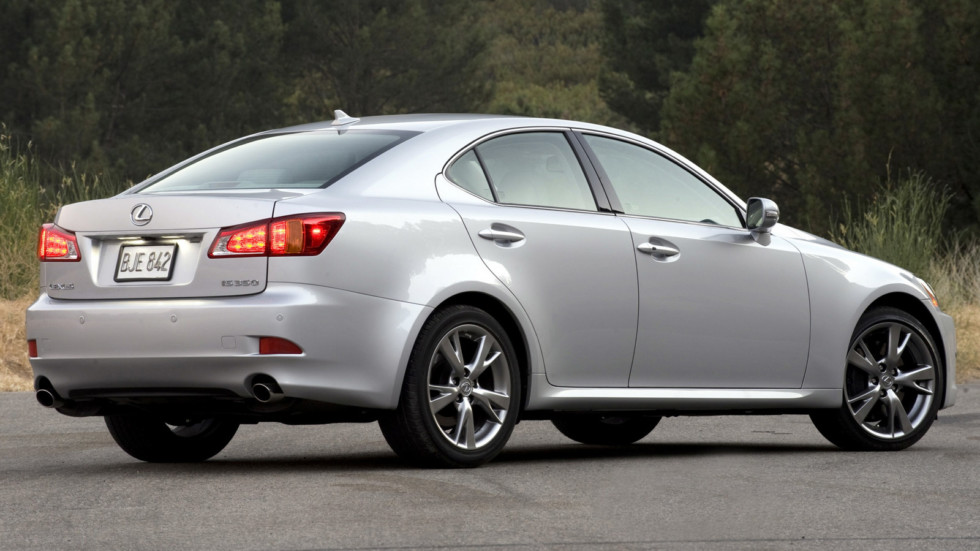 Lexus IS 350 в динамике