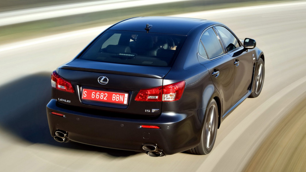 Lexus IS F в динамике 2