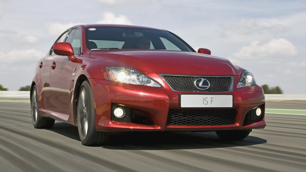 Lexus IS F в динамике