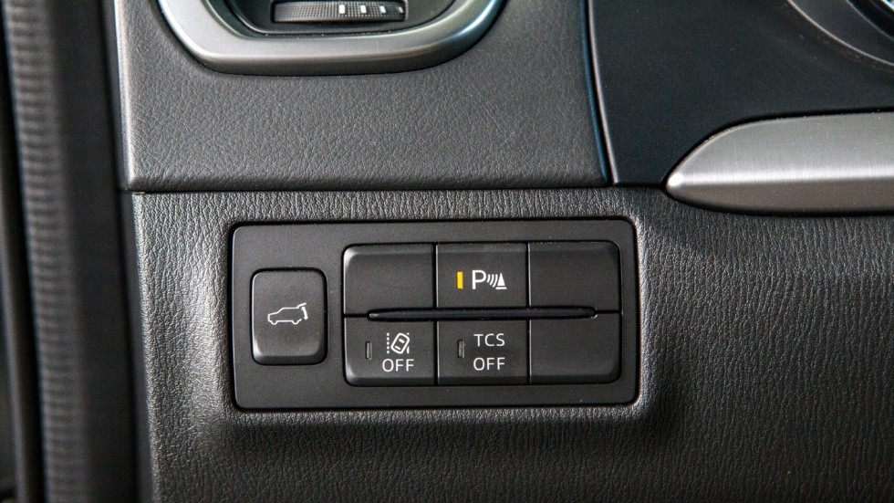 Mazda CX-9 панель управления
