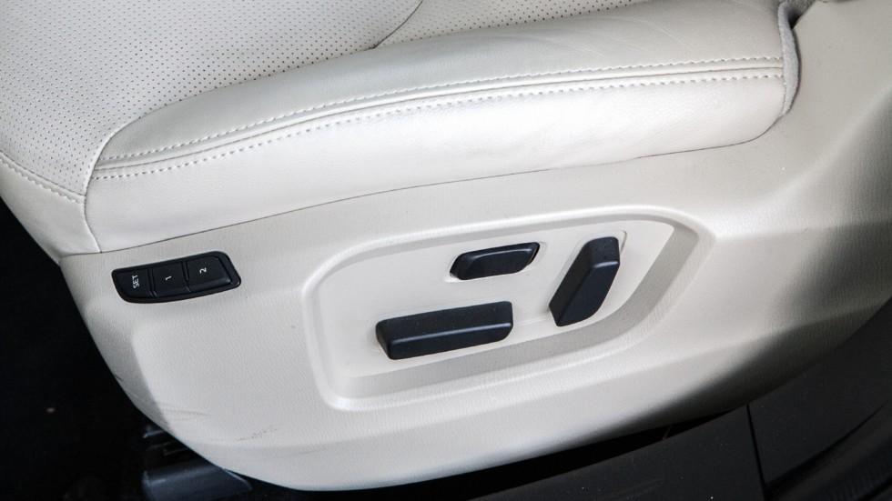Mazda CX-9 регулировка сидения