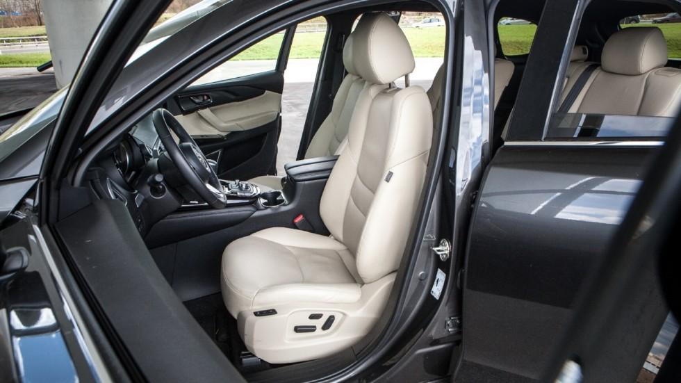 Mazda CX-9 салон