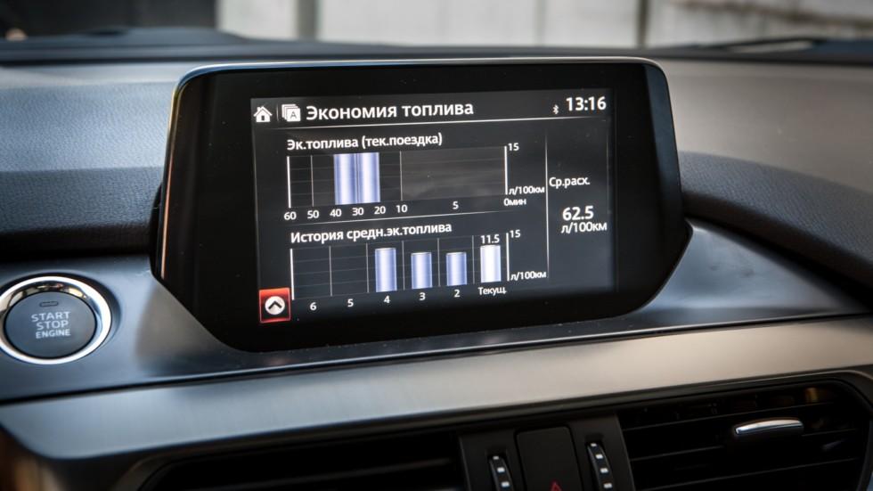 Mazda6 дисплей