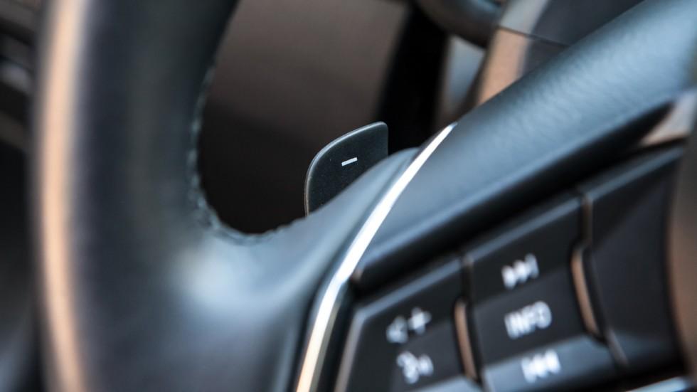 Mazda6 подрулевые лепестки