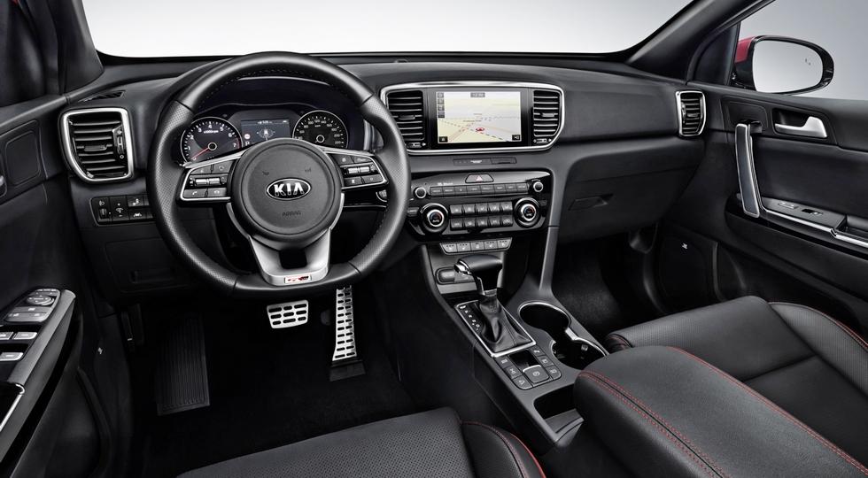 Обновлённый Kia Sportage представлен официально