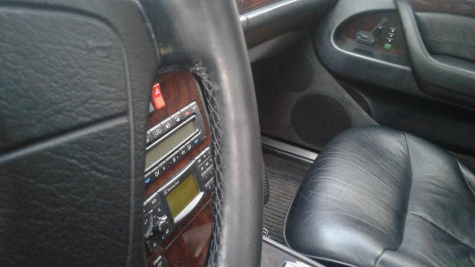 Mercedes-Benz S-Class W140 салон