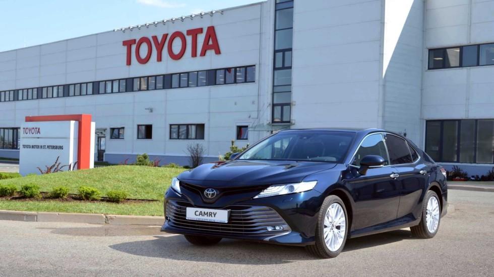 Новейшую Тойота Camry будут собирать из русских комплектующих