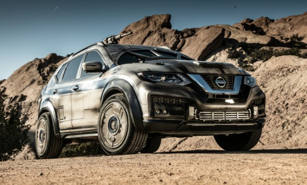 Nissan представил X-Trail в стиле Звездных войн