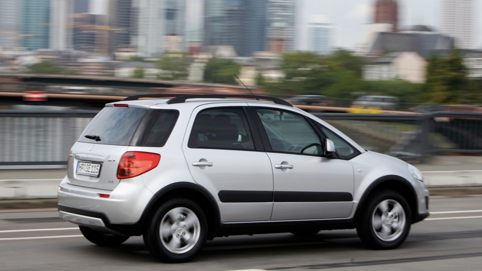 Suzuki SX4 Worldwide '2009–14 на ходу