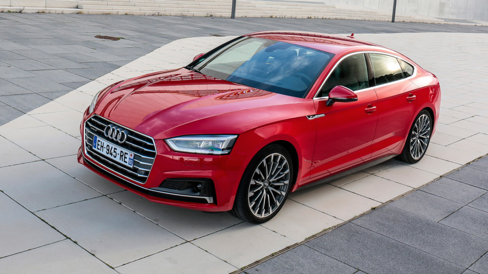 На фото: Audi A5