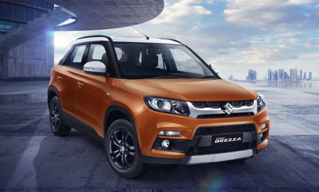 Обновленный паркетник Suzuki Vitara Brezza представлен официально