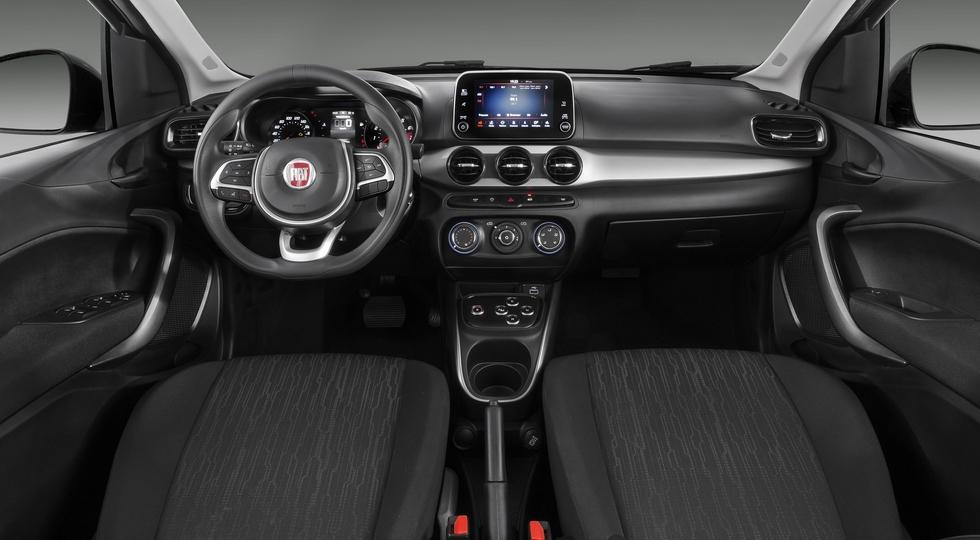 На фото: стандартный хэтчбек Fiat Argo