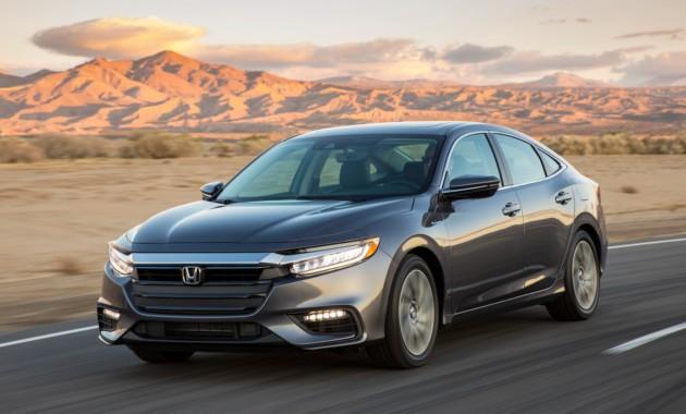 Новый гибридный седан Хонда Insight отправился наконвейер