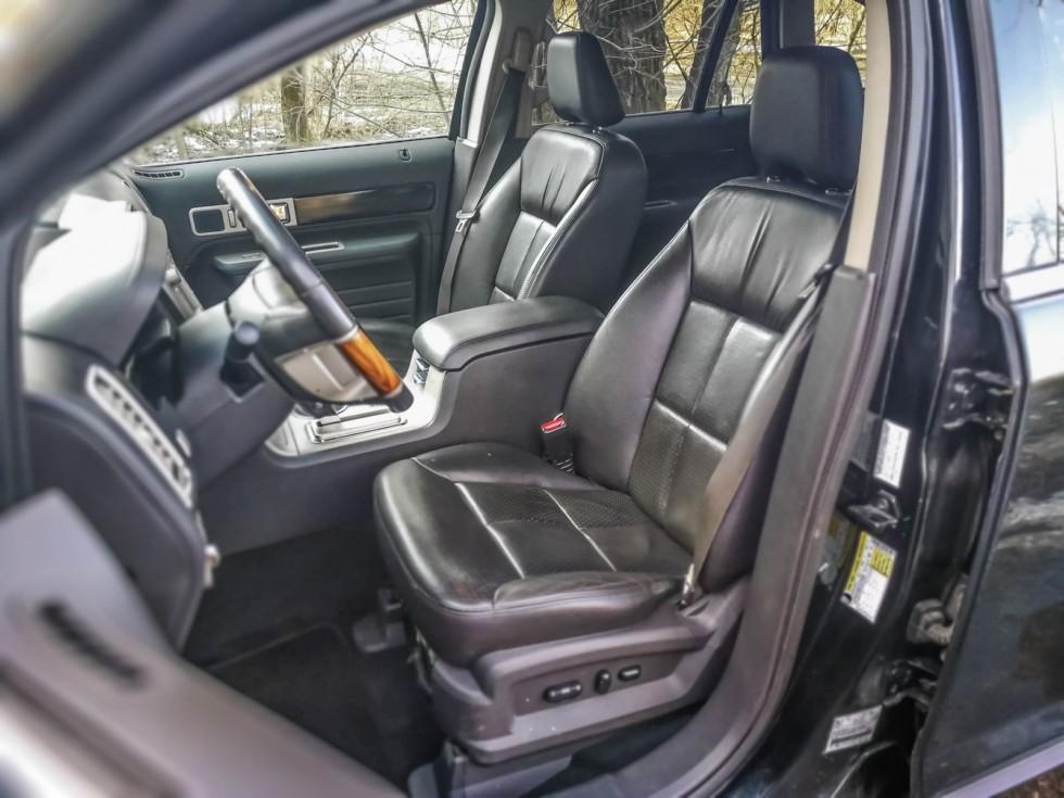 lincoln mkx передние сидения