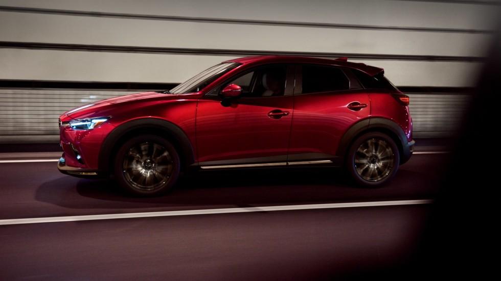 Обновленный Mazda CX-3 получил новый дизель