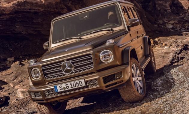Новый Mercedes G-Class получит дизель через полгода