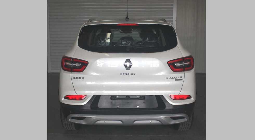 На фото: обновленный Renault Kadjar, версия для Китая