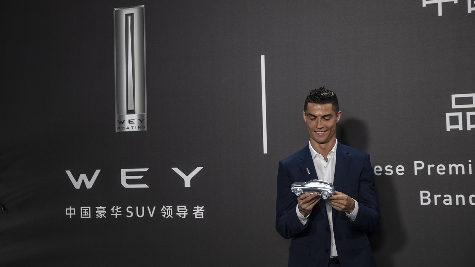 Криштиану Роналду будет рекламировать китайские автомобили