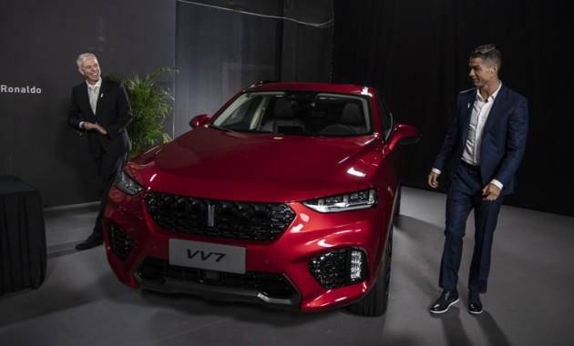 Китайский премиум-бренд Wey заключил договор нарекламу сРоналду