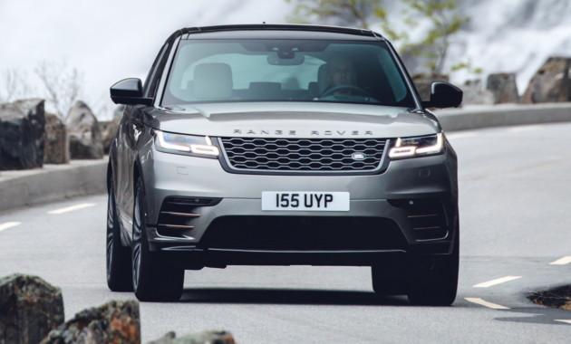 Land Rover освежил Velar