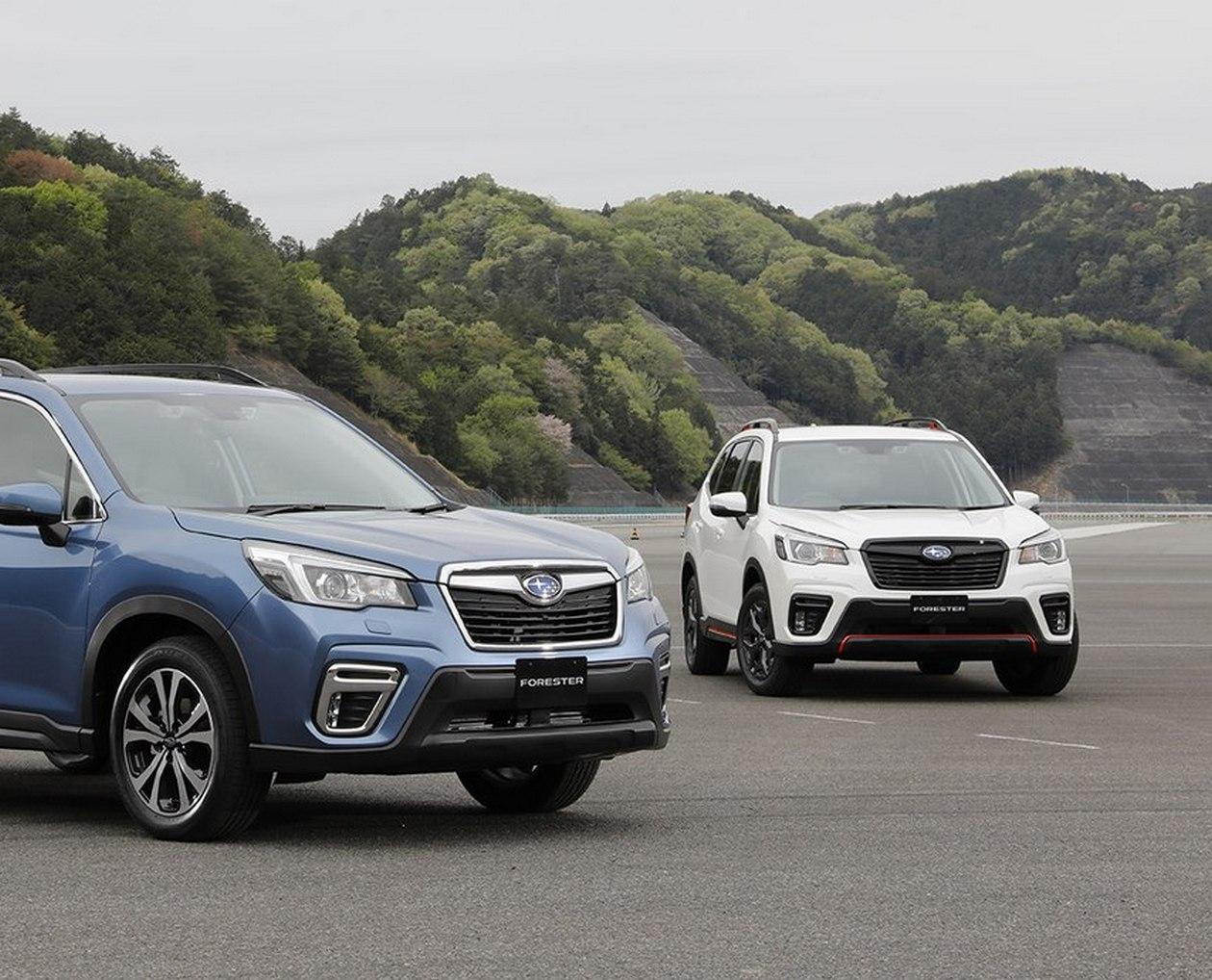 Новый Subaru Forester добрался до Японии